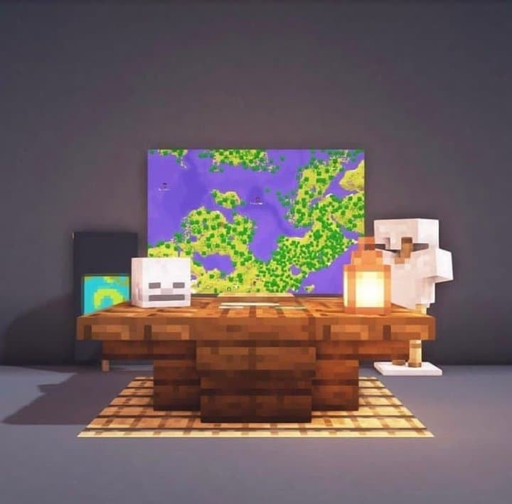 Minecraft Map Room