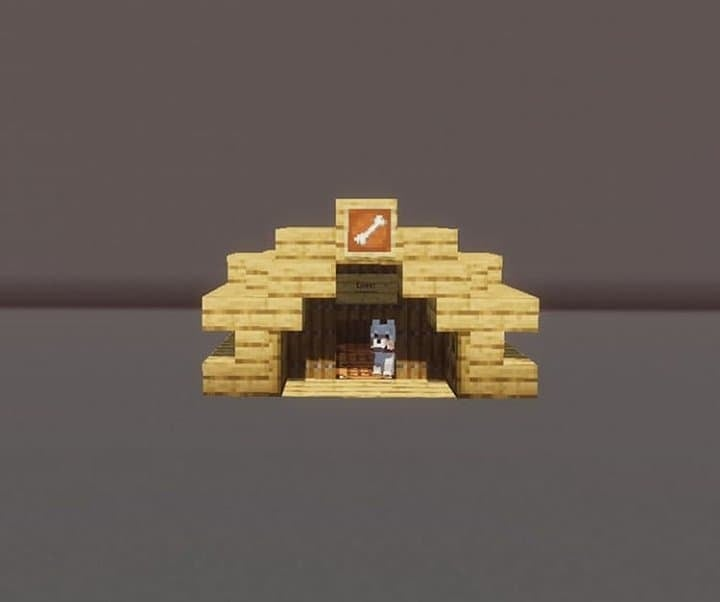 Minecraft Dog House